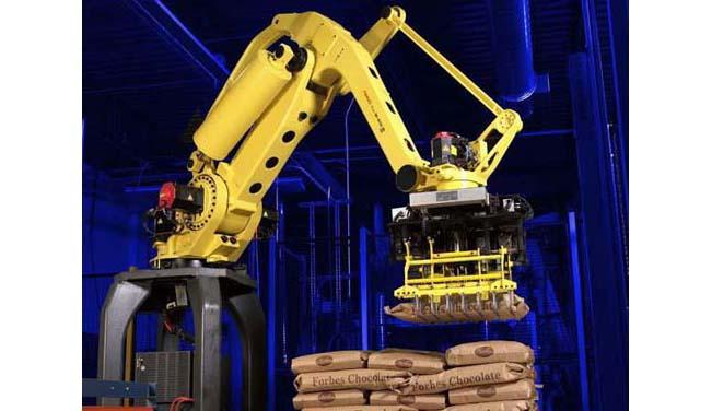 FANUC机器人在码垛行业的应用