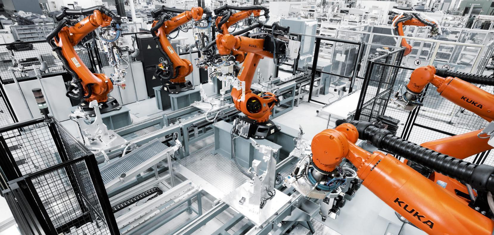 世界最先进的汽车自动化工厂到底是什么样的?