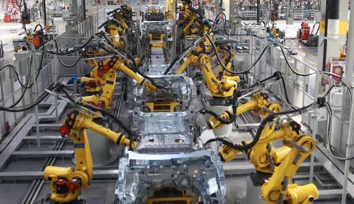 视频:走进长城徐水发那科机器人工厂揭秘VV5s的诞生